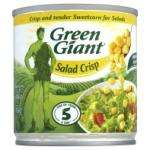 6 x 150g tins / pack Green Giant Sweetcorn - salad crisp Only £1 in ASDA Instore only