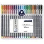 Staedtler Triplus Fineliner Desktop Box - 20 Colours - £6.19 delivered @ Amazon