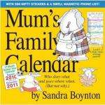Family Wall Calendar/Planner 2011 - Amazon £6.44 delivered