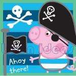 Character World Peppa George Pirate Canvas Art £4.08 delivered @ Amazon