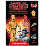 star wars :the clone wars - press out and build -£4.99 @the book people