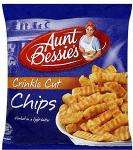 Aunt Bessie's Crinkle Cut Chips (907g) £1 a bag at Tesco