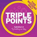 IT'S BACK! - Triple Nectar points this weekend(16th/ 17th) @ Sainsbury's