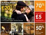 5 Night UK Break including 3 Course Dinner & Breakfast in January £18 per person per night