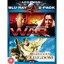 War / Forbidden Kingdom Double Pack - Pre Order( Blu-Ray ) £9.99 @ HMV