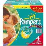 Pampers Mega Nappies - 120 pack @ Asda and possible 8% quidco
