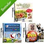 Nintendo DS Triple Pack - Petz Monkey Family + My Cooking Coach + Driving Test was £59.97 now £20 @ asda
