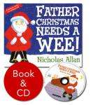 Father Christmas Needs a Wee (Book and CD) £3.50 delivered @ Red House Books