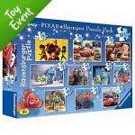 Disney Pixar 10 In A Box jigsaw puzzles £7 collect instore @asda