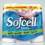 36 Sofcell toilet rolls for £5 online & in-store @ Poundstretcher. 2 x 18 pack