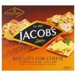 JACOB'S Biscuits for Cheese Large 450g box (8 cracker varieties) only £1.49 @ B&M Retail