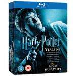 Harry Potter Boxset Years 1-6 ( Blu-ray  ) £15.52 ( or £12.52 for new customers ) @ PriceMinister ( Gzoop )