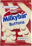 Nestle Milkybar Buttons (110g) was £1.79 now 89p @ Tesco