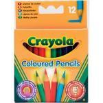 Crayola - 12 Half Length Pencils - 72p delivered @ Amazon