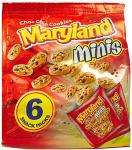 Maryland Mini Chocolate Chip Cookie 6 Pack & Burtons Mini Jammie Dodgers Lunch Box 7Pk Any Three for £3 at Tesco