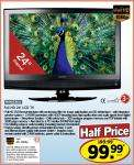 """Full HD 24"""" TV at Lidl Warehouse Clearance (Northern Ireland only) £99.99"""