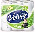 18 pack Triple Velvet toilet tissue £5.49 @ Netto