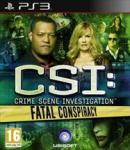 CSI; Fatal Conspiracy PS3 (pre-order)  £16.00 @ Tesco Entertainment