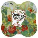 Heinz whole peeled tomatoes 4x400g £3.97 BUY 1 GET 2 FREE @ Tesco