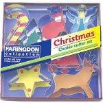 Faringdon Set of 7 Christmas Cookie Cutters £3.20 delivered @ Amazon (with code)
