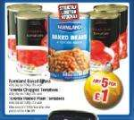 5 x Tins Plum Tomatoes (400gm) - Netto Thurs. 4th - instore only