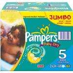 PAMPERS NAPPIES JUMBO PACKS  MANY SIZES  UPTO 58% OFF !!!!!! TWO JUMBO NAPPIES PACKS for £10  example:   (Pack of 2) ,Pampers Baby-Dry Size 3 Midi Nappies - 2 x 96 Jumbo Packs (Pack of 2) for £10