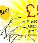 Glasses for £5 (+£3.99 delivery) @ speckyfoureyes.com