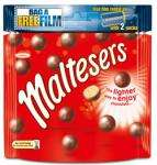 Buy any 2 packs of Maltesers, M&M's or Revels (135g - 185g) Reduced from £1.89 to £1 per pack @ Toys R Us and get a free Blockbuster movie rental worth £3.95!