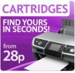 Printer Cartridges from 28p but a huge delivery charge @ BigPockets (about £3.50)