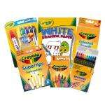 Crayola Super Stationery Set [# 24 Crayons # 36 coloured pencils # 12 supertip markers # 10 twistable pencils # 24 special effect mini twistable crayons # 6 flip top markers # A4 white paper pad.] £9.95 delivered @ Amazon