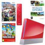 Red Nintendo Wii Console with Super Smash Bros Brawl, Wii Sports, New Super Mario Bros and Donkey Kong £159.97 @ Toys R Us