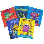Boys Activity Pack Books (5 books) £5.89 delivered @ Sendit
