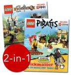 LEGO Brickmaster: Pirates and Castle 2-in-1 - Half Price £20.00 delivered @ The Book People (set includes enough pieces to make 29 models & 6 Minifigures, as well as a great book) + FREE 'Noodles knitting book'
