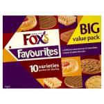 Fox's Favourites 1kilo carton £3.00 @ Netto