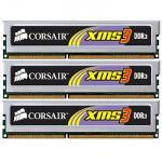 Corsair  6GB (3x2GB) Corsair XMS3 DDR3 PC3-12800 (1600) £65 @ Scan
