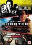 Shooter / The Italian Job / Four Brothers DVD Set £4.95 at Base