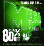 Mega Monday - up to 80% off 100's of items - 24 HRS ONLY!!!