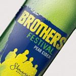 Brothers Pear Cider 7% 500ml - £1 at Sainsburys