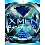 X-Men Quadrilogy - X-Men, X-Men 2, X-Men: The Last Stand, X-Men Origins: Wolverine [Blu-ray] only £20.97 Delivered @ Amazon