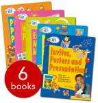 QED Learn ICT Collection - 6 Books - £5.00 (RRP:£35.94) + free postage The Book People