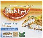 Birds Eye Crispy Chicken (2 per pack - 180g) & Birds Eye Southern Fried Chicken (2 per pack - 190g) - 100% Chicken Breast - £1 at Asda