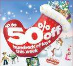 Upto 50% hundreds of toys @ Woolworths