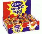Cabury's Creme Eggs boxes of 48 on sale now at Costco