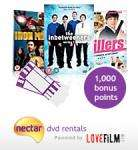 2 FREE cinema tickets with LoveFilm and 1000 nectar points when you sign up for a 30 day trial with nectar