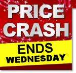 PRICE CRASH - ENDS WEDNESDAY AT HALFORDS