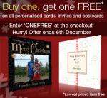 another deal on m&s personalised cards buy 1 get 1 free from £1.99 @m&s