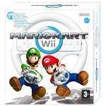 Mario Kart with Wii Wheel (Wii) £19 delivered @ Amazon