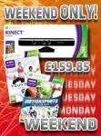 Kinect with Kinect Adventures + Your Shape Fitness Evolved + Kinect Motion Sports Bundle £159.85 @ Shopto