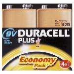 Duracell Plus Batteries 9V 4 Pack, £6.10 Delivered @ Amazon
