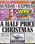 Free 3 metre roll of  Wrapping Paper @ Superdrug & Christmas CD in Sunday Express